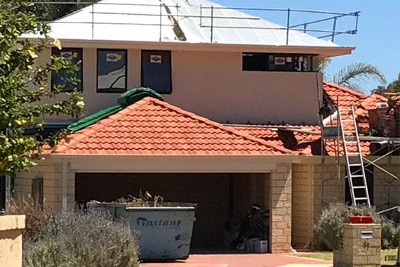 Second story addition wellard Perth